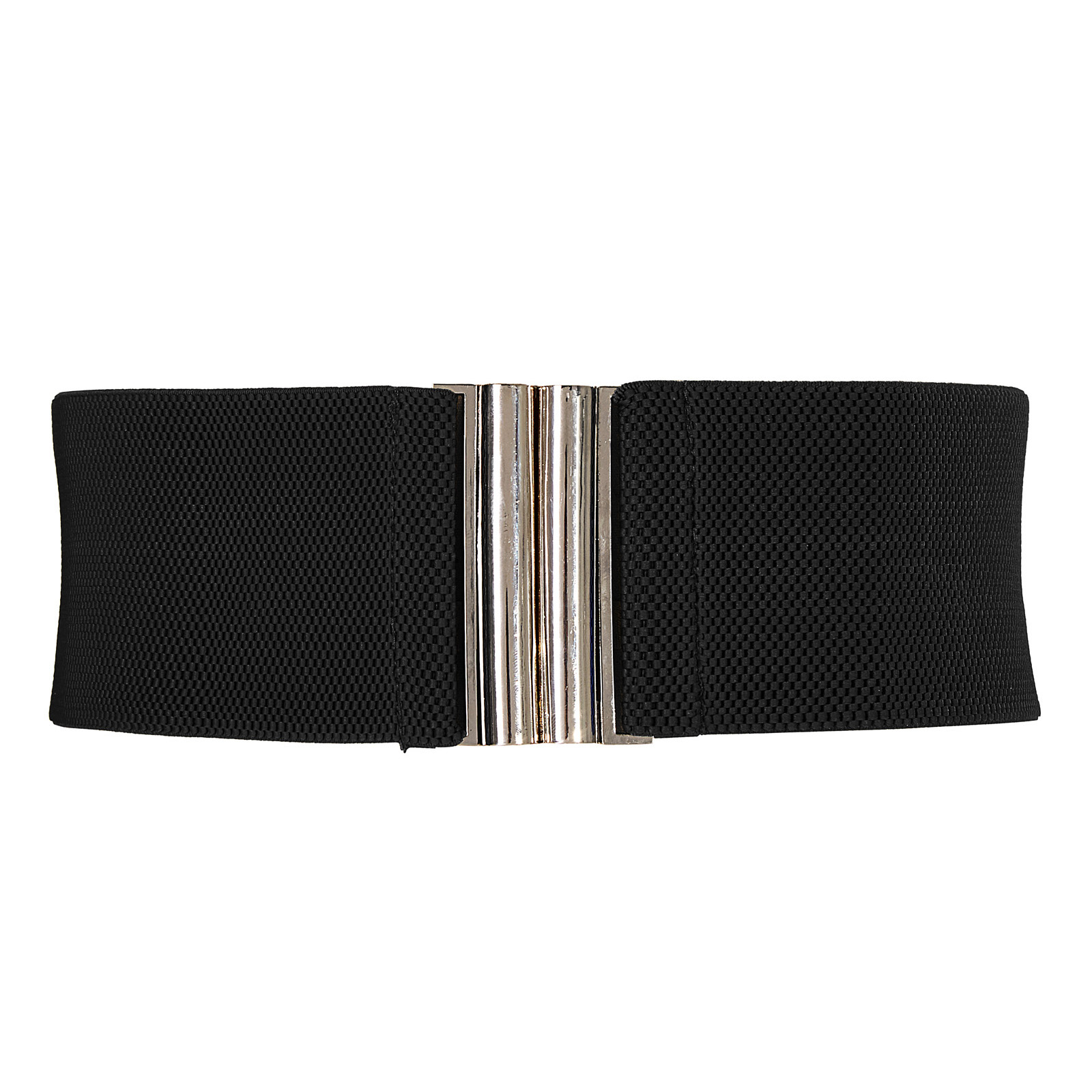 Black white retro vintage Ladies Girls Fashion Wide   belts   for party dress Metal Hook Stretchy Elastic Waist   Belt   Waistband