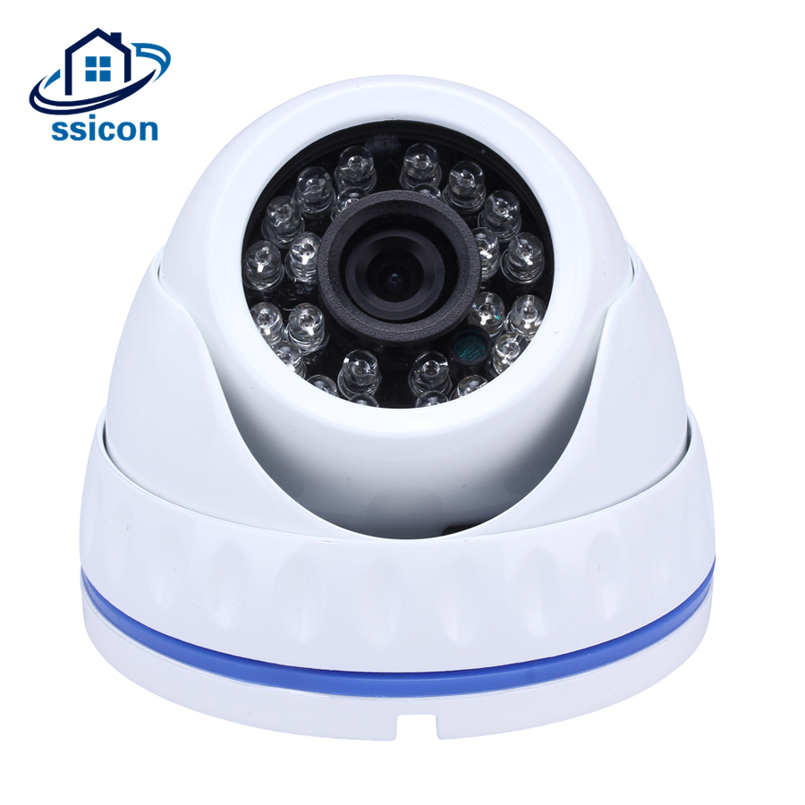 SSICON IR Led AHD Security Camera 960P 1080P Home Indoor 20M Night Vision Dome Surveillance CCTV Camera 1.3MP 2MP with IR Cut 4 in 1 ir high speed dome camera ahd tvi cvi cvbs 1080p output ir night vision 150m ptz dome camera with wiper