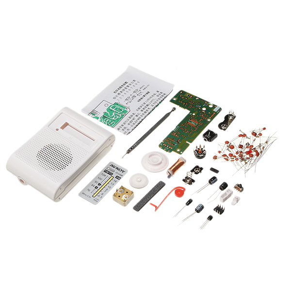High Quality DIY Portable AM FM Radio Kit 76-108MHZ 525-1605KHZ Suitable For Electronic Teaching And LearningHigh Quality DIY Portable AM FM Radio Kit 76-108MHZ 525-1605KHZ Suitable For Electronic Teaching And Learning