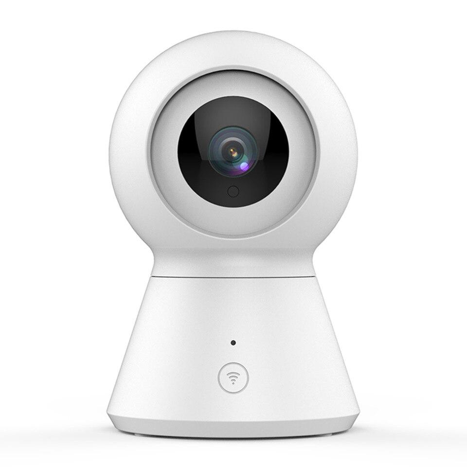 Caméra dôme intelligente 1080 P moniteur bébé caméra Wi-Fi Home Cam panoramique/inclinaison/Zoom caméra de sécurité IP sans fil Vision nocturne Cloud alimenté par YI