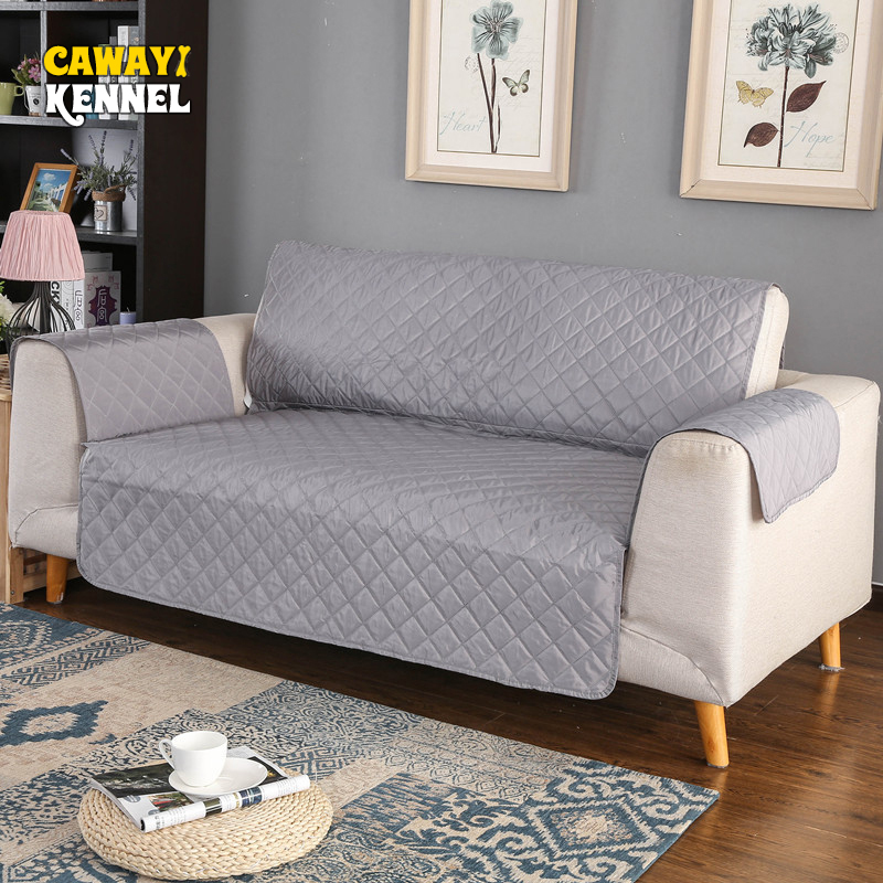 CAWAYI KENNEL Polyester Anti grab Pet Dog Cat Sofa Couch