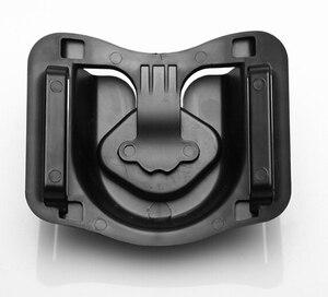 "Image 4 - 1/4 ""Quick Release แผ่นกล้อง Holster เข็มขัดเข็มขัดหัวเข็มขัดตะขอแขวนสำหรับ Canon Nikon Fuji Sony A7RII 6500 GH5 DSLR"