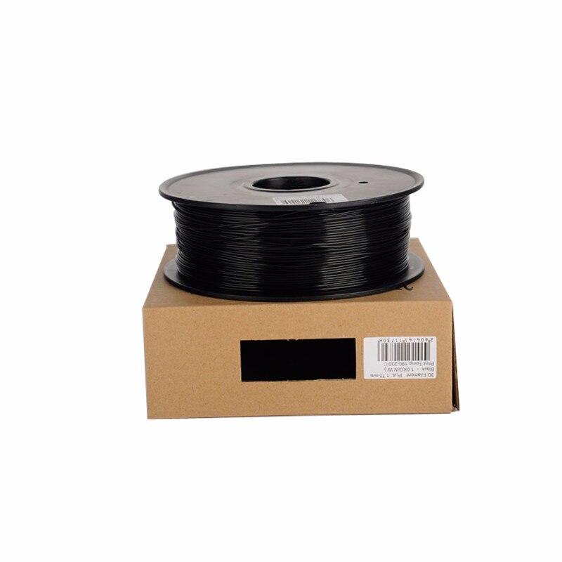 5 kg une bobine imprimante 3d PLA Filament diamètre 1.75mm acide polylactique filamento