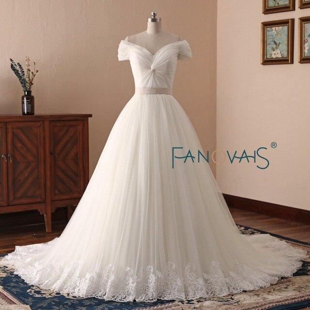 aliexpress : buy vintage tulle wedding dresses off shoulder