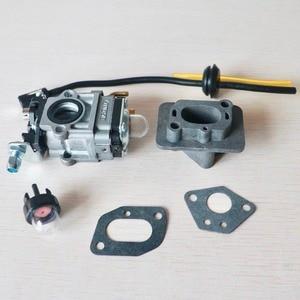 Image 5 - Carburetor Base Connector Intake Manifold Fuel Hose 43cc 52cc 40 5 BC430 CG430 CG520 1E40F 5 44F 5 Motor Brush Cutter Trimmer