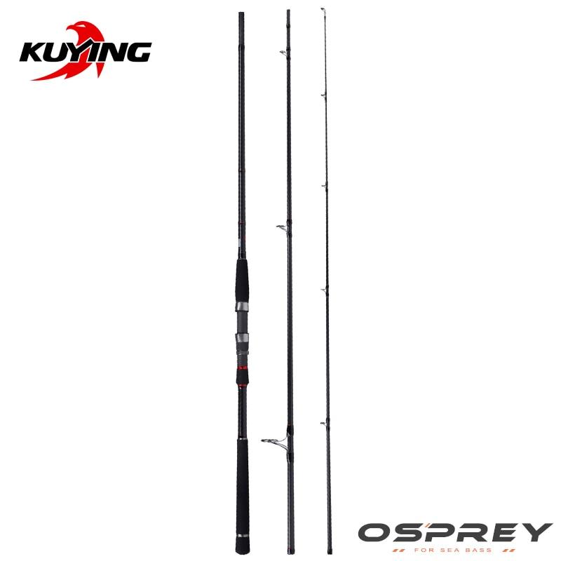 удочка osprey ro 700 - KUYING O-SPREY 2.7m 90 3m 10 Lure MH Medium Hard Carbon Spinning Fishing Rod Pole FUJI Parts Seabass Bass Cane Stick Medium Fast