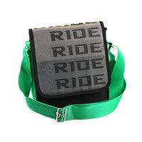 JDM Crossbody Bag Racing School Travel Bag Handbag Seat Belt Drift Straps File Ipad Laptop Bag Car Auto Case For BRIDD TTAKATA