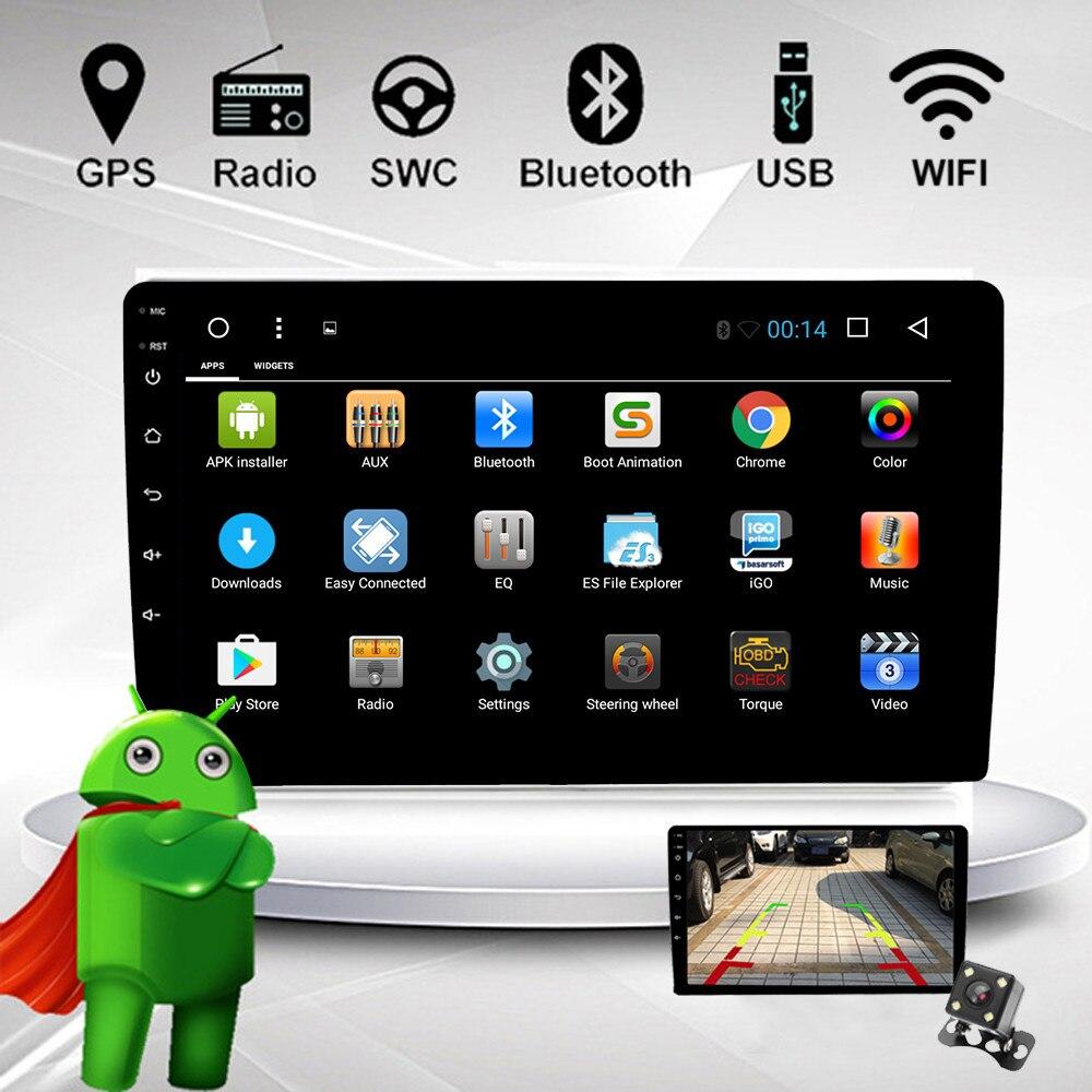 10.1 Inch Android 8.1 Auto Radio Stereo Double 2 Din 7 ''touchscreen Gps Navigatie Wifi Bluetooth Fm Mp5 Audio Mp5 Speler Om Gezondheid Effectief Te Stimuleren