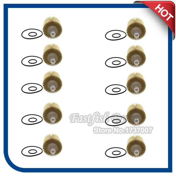Freundschaftlich 10 StÜcke Ölfilter Für Lexus Rx350 Rx450h Toyota 04152-yzza1 Scion Avalon Camry