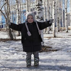 Image 5 - CROAL CHERIE Girls Jackets Kids Boys Coat Children Winter Outerwear & Coats Casual Baby Girls Clothes Autumn Winter Parkas