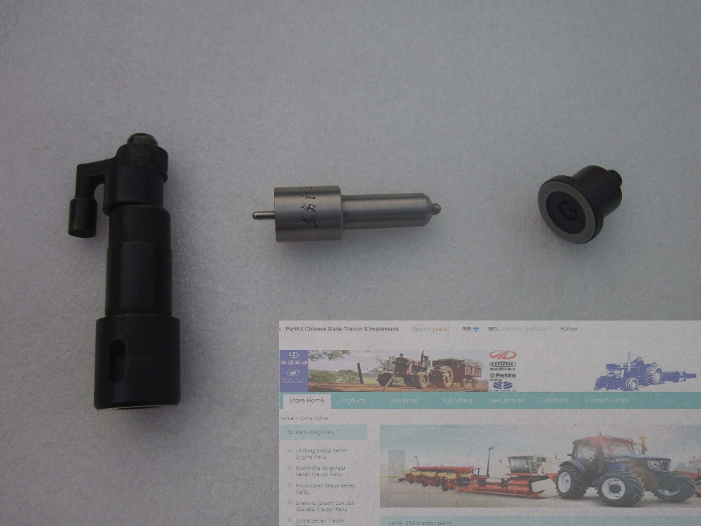 China Yituo engine LR 105 series the set of nozzles plungers and delivery valves for one