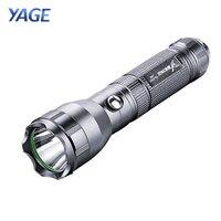 YAGE 332C Flashlight CREE LED Flashlight Tactical Touch Light Three Modes 200-500M Self Defence Lantern Lintern for 18650