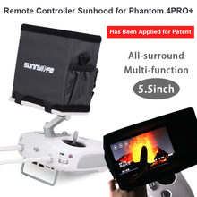 5.5in Remote Controller Sunshade Sunhood All-surround Smartphone Multi-function for DJI Phantom 4 PRO+(China)