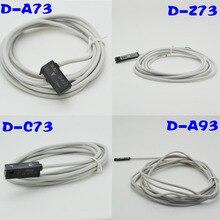 5 قطعة D A73 D Z73 D A93 D C73 D A54 SMC هوائي اسطوانة الهواء المغناطيسي القصب التبديل استشعار القرب