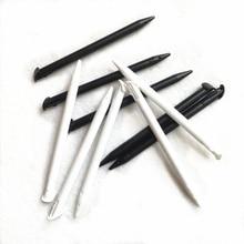 100 יח\חבילה פלסטיק החלפה עבור Nintend חדש 3DS XL 3DS LL Stylus מגע מסך מגע עט שחור/לבן