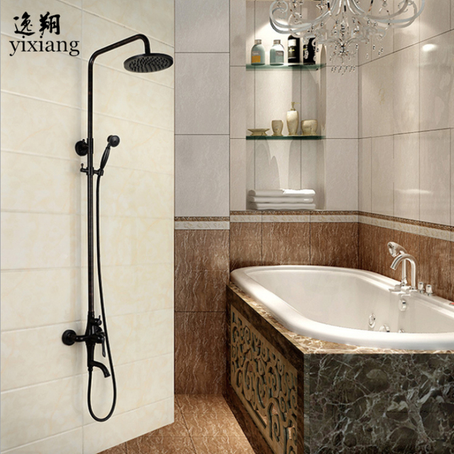 Wholesale Luxury hot and cold mixe in Bathroom Faucet Matte Black ...