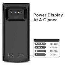 5000 мАч быстрое зарядное устройство для samsung Note 9 чехол для аккумулятора внешняя крышка зарядного устройства банк питания для samsung Note 9 чехол для аккумулятора