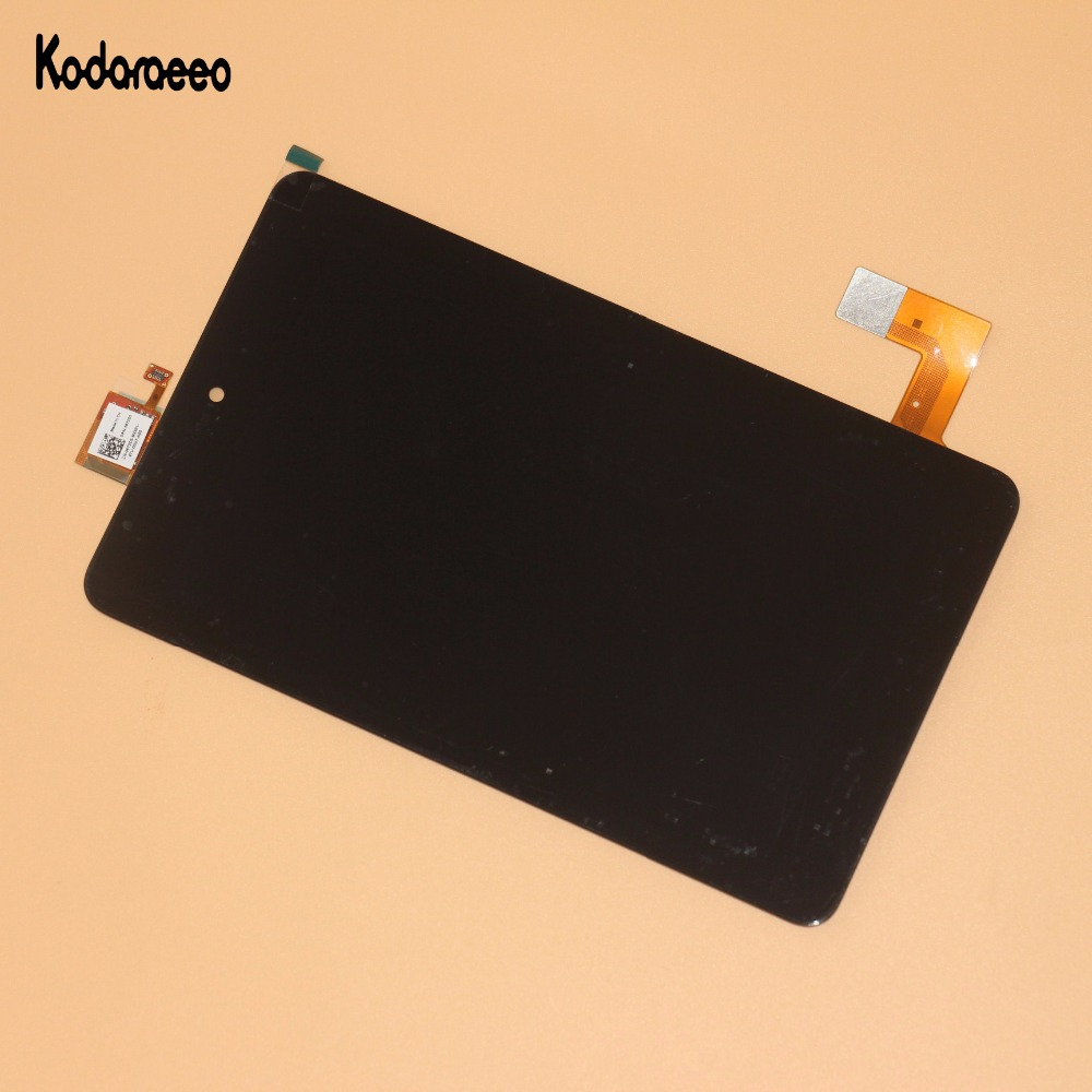 kodaraeeo For Dell Venue 7 T01C 3740 LCD Display+Touch Screen Digitizer Glass Assembly Repair Replacement Black bqt high quality digitizer touch screen 7inch for dell venue 7 tablet 3740 3730 touch screen with digitizer panel front glass