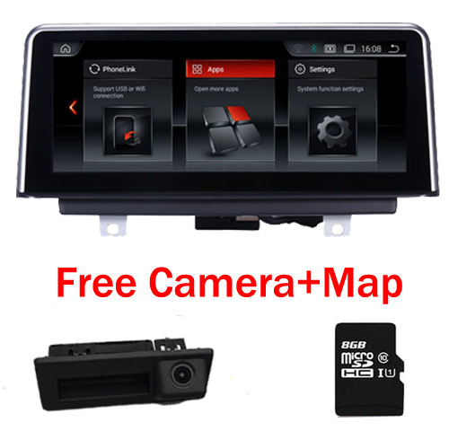 10.25 Tactile Android 7.1 Autoradio GPS Navigation pour BMW X5 E70 (2007-2013) BMW X6 E71 (2007-2014) Intelligence Voiture Multimédia