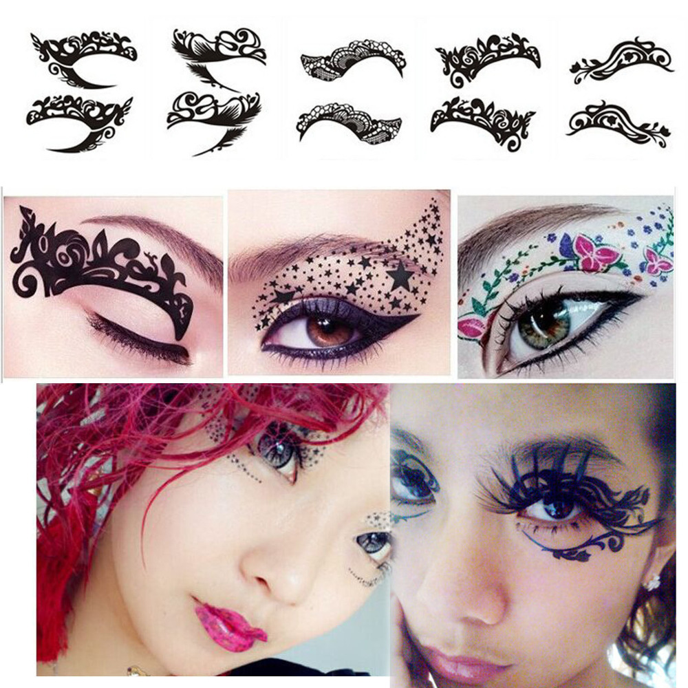 ᓂ Discount for cheap temporary tattoos eyeshadow tattoo stickers ...