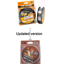 Topline Tackle braided fishing line 100m super Strong japanfish lines Monofilament fluorocarbon winter