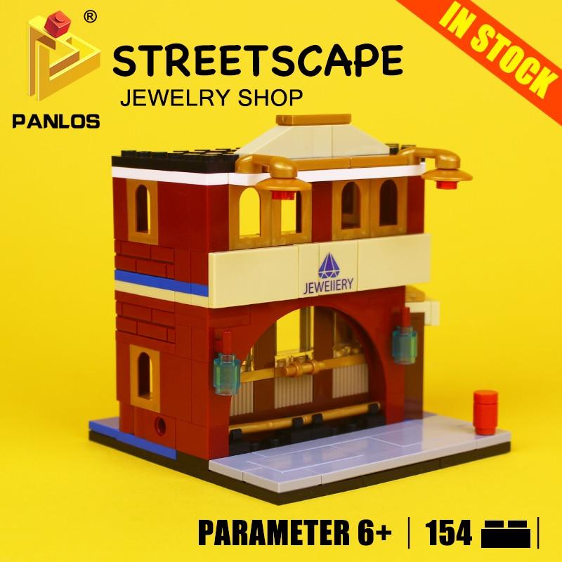 STREETSCAPE Model Building Toys hobbies JEWELRY SHOP Blocks Educational DIY Bricks kids Compatible With lego city Creative