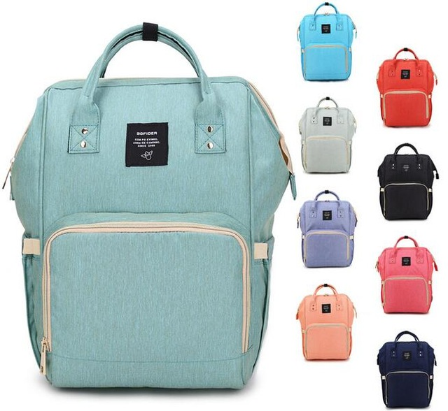 Brand Diaper Bag Waterproof Travel Backpack Fashion Mummy