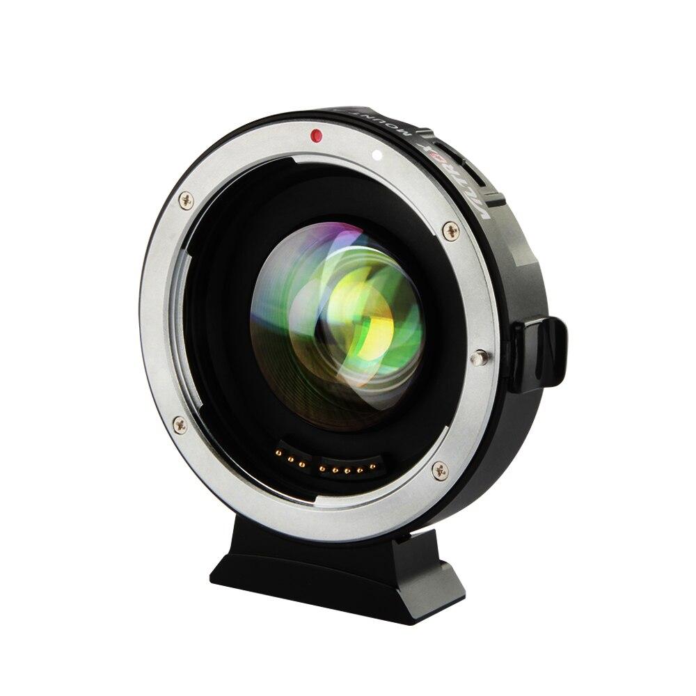 VILTROX EF-M2 0.71x Elettronico di Messa A Fuoco Automatica Riduttore di Velocità Booster Turbo Adattatori per Obiettivi Fotografici per Canon per M4/3 della macchina fotografica GH4 GH5 GF6 GX7 OM-D
