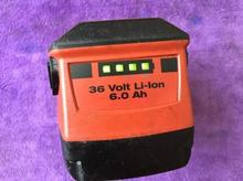 HILTI lithium battery. HILTI36V 6.0Ah lithium battery. Applicable to new TE30-A36 electric hammer. (Used products)(China)