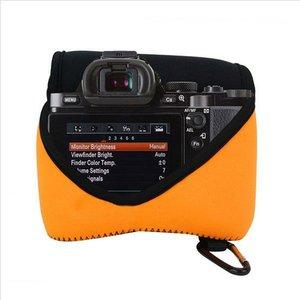 Image 5 - Bolso Cámara neopreno para Canon EOS 1300D 800D 850D 200D 250D 1500D 2000D 4000D 3000D T8i T6 T7i SL2 SL3 T7 T100 18 55mm lente