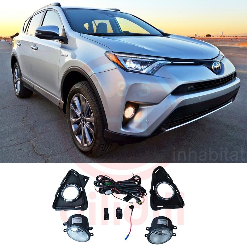 Komplet OEM svjetiljki za maglu za Toyota RAV4 2016 2017 2018 - Svjetla automobila - Foto 1