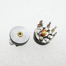 10 шт./лот, потенциометр RV12MM B503 B50K, усилитель мощности, потенциометр громкости с угловым переключателем