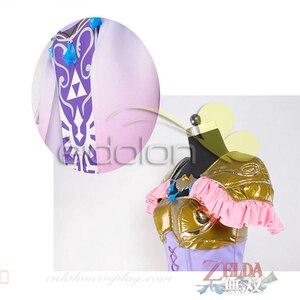 Аниме Косплей Костюм Легенда о Зельде принцесса Зельда платье костюмы для косплея на заказ полный комплект C