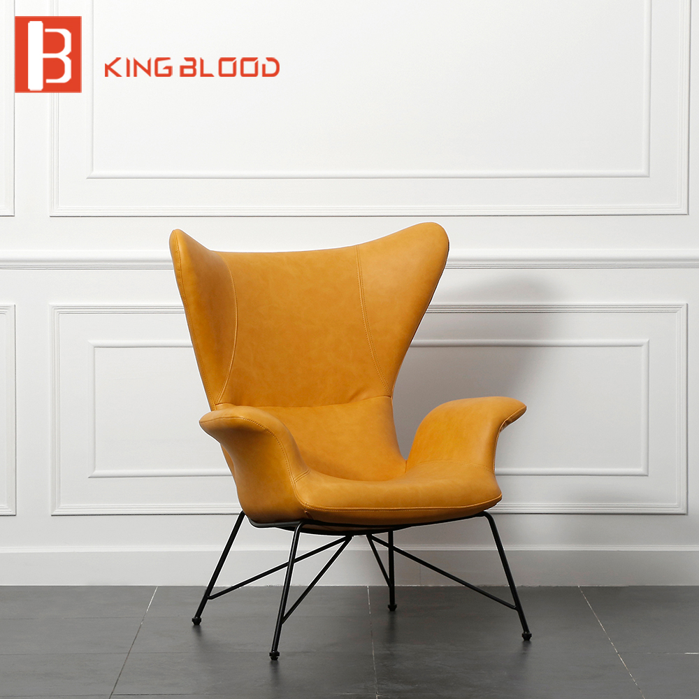 Big Offer 63eb Italian Armchair Single Chair Pu Leather
