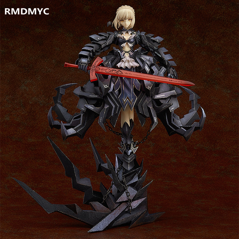 ФОТО RMDMYC Anime Fate night Action Figure Toys Limited Edition 33CM Alter Huke Battle Saber PVC Model Collection Dolls ACGN Gifts