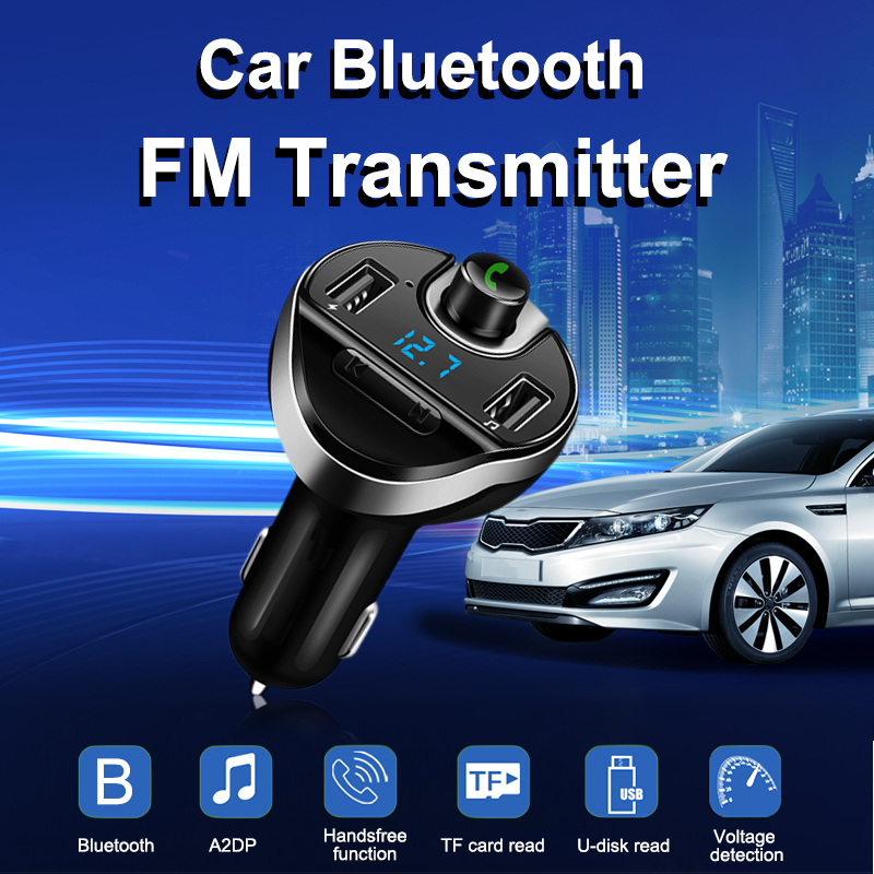 Aliexpress.com : Buy Bluetooth Car Kit Hands Free FM Transmitter Handsfree Receiver Dual USB