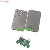 Wilongda 3 Button remote key PCF7947 chip 434mhz for Renault Laguna &Velsatis & Espace Card
