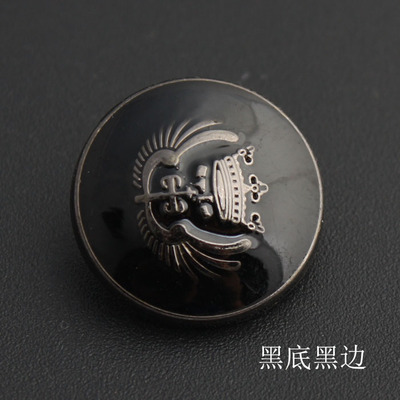 Free shipping 30pcslot High-grade metal suit for men and women coat buttons dust coat black wings shirt button 11.5-25mm