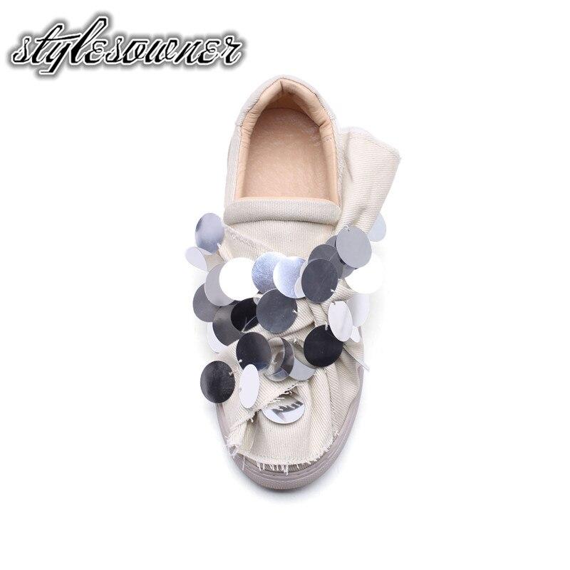 Molla Autunno A Cotone Stylesowner Di Studente Mano Rotonda White Cool on  made Donna Bellezza Scarpe ... 5b676e5958c