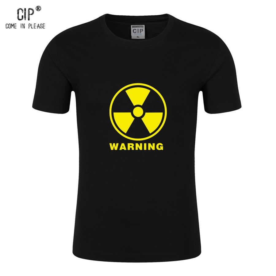 472944e1 100% Cotton Radiation Warning Baby Boys T-Shirt Print Summer Funny Tshirt  Kid Children's