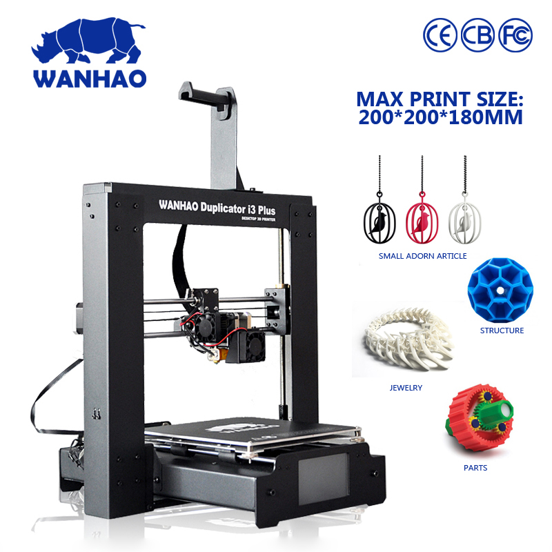 WANHAO new developed I3 PLUS in public sale  mental frame  whole set machine with bulid in LCD screen|wanhao i3|i3 frame|  - title=