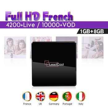 4K IPTV France Belgium Android 7.1 Leadcool X Smart SUBTV IPTV Box 1G 8G S905W WIFI 1 Year Code IPTV Italy Spain Arabic UK IP TV - DISCOUNT ITEM  42% OFF Consumer Electronics