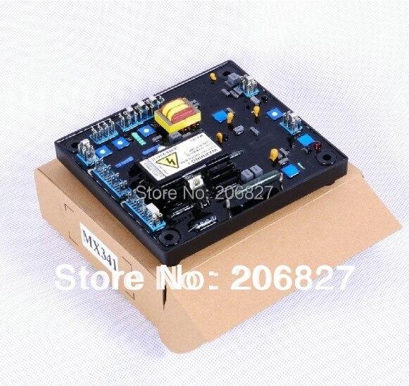 nupart carton mx341 avr for generator regulator 2PCS MX341 AVR for generator regulator