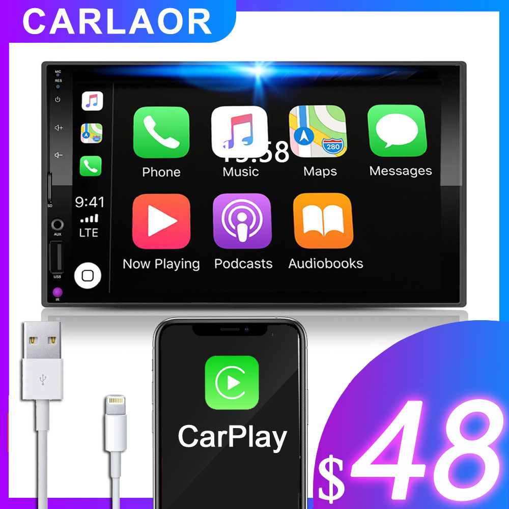 2 Din Car radio Multimedia Player 2Din 7 Capacitive touch screen Autoradio Video Stereo Mirror Link