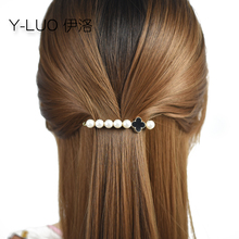 Women headwear pearl cute hair clip fashion vintage barrettes flower accessories for women