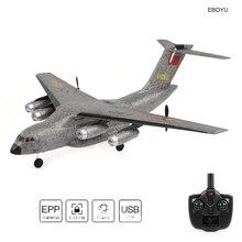 WLToys XK A130 RC самолет 2,4 г 3CH Xian Y-20 модель военно-транспортный самолет EPP Дистанционное Управление самолет с неподвижным крылом радиоуправляемая игрушка