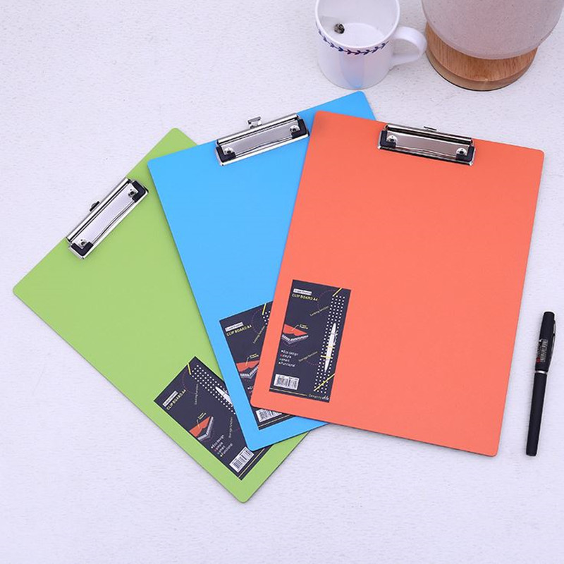 Coloffice 1PC Colorful Multi-Function File Folder WordPad Clipboard Clip Filing Production Folder File Document School Office