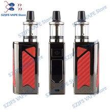 HOT 100W vape bulit-in 2200mah battery vaporizer LED Screen Smoke Vaper Huge Vaportank vapor electronic cigarette vape pen kit