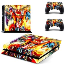 Anime Naruto Tokyo Ghouls One Piece PS4 Skin Sticker Decal Vinyl for Playstation 4 Console and 2 Controllers PS4 Skin Sticker