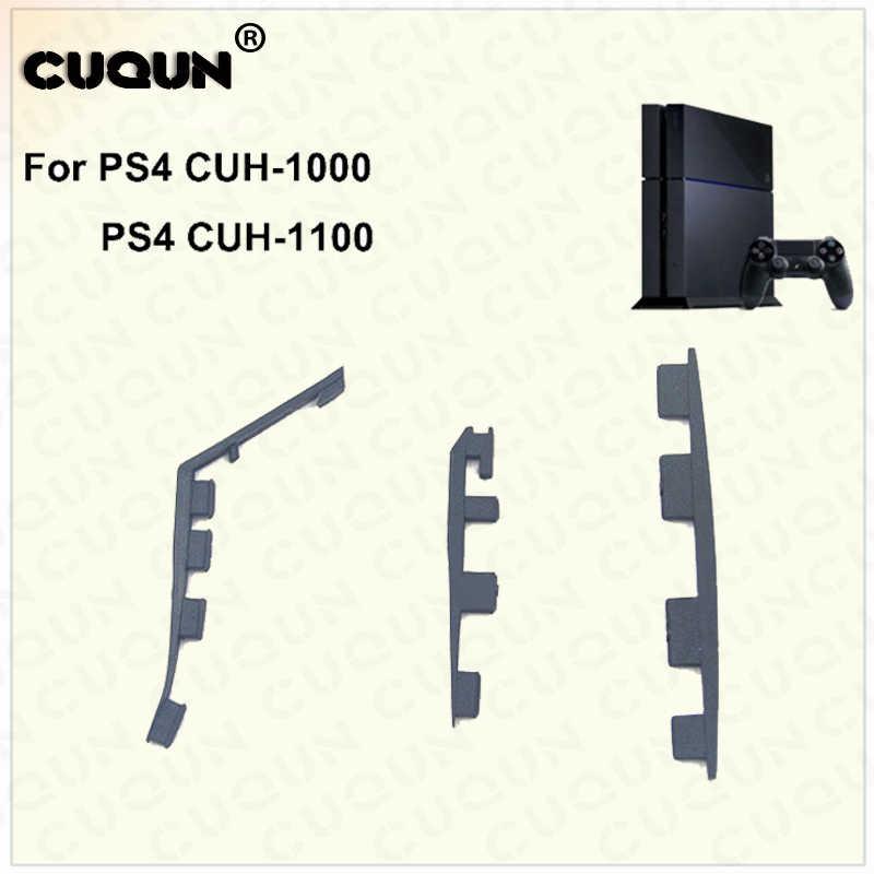Нижней подушки резиновые прокладки для sony PS4 кремния резиновые ножки Обложка Pad для PS4 Playstation 4 контроллера